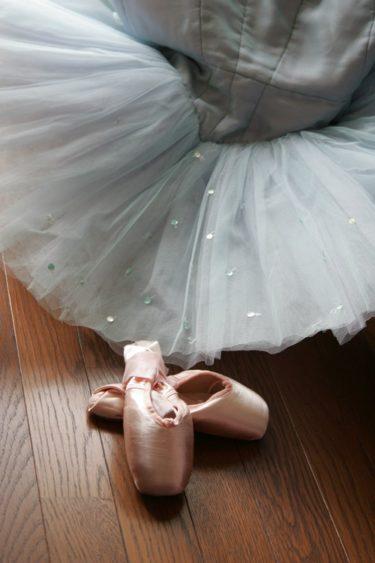トゥシューズとバレエの衣装